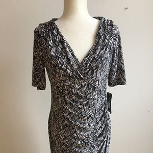 Ralph Lauren DRESS NEW Size 10 P Petite ruched